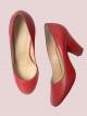 Escarpin Pamely Rouge/rouge
