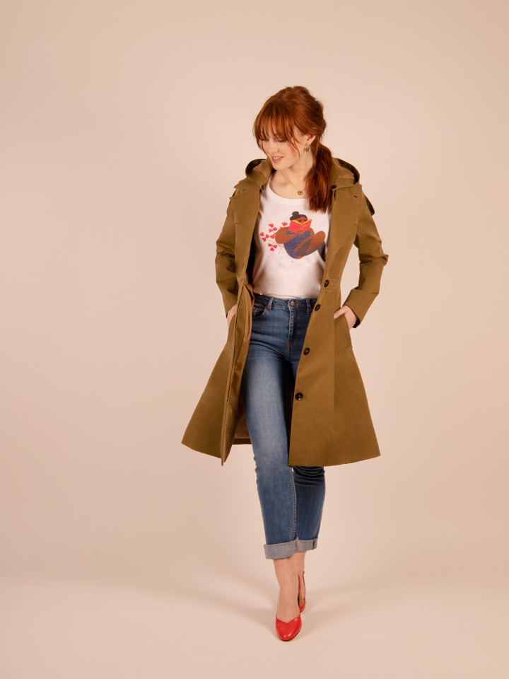 TRENCH BOOK CAMEL