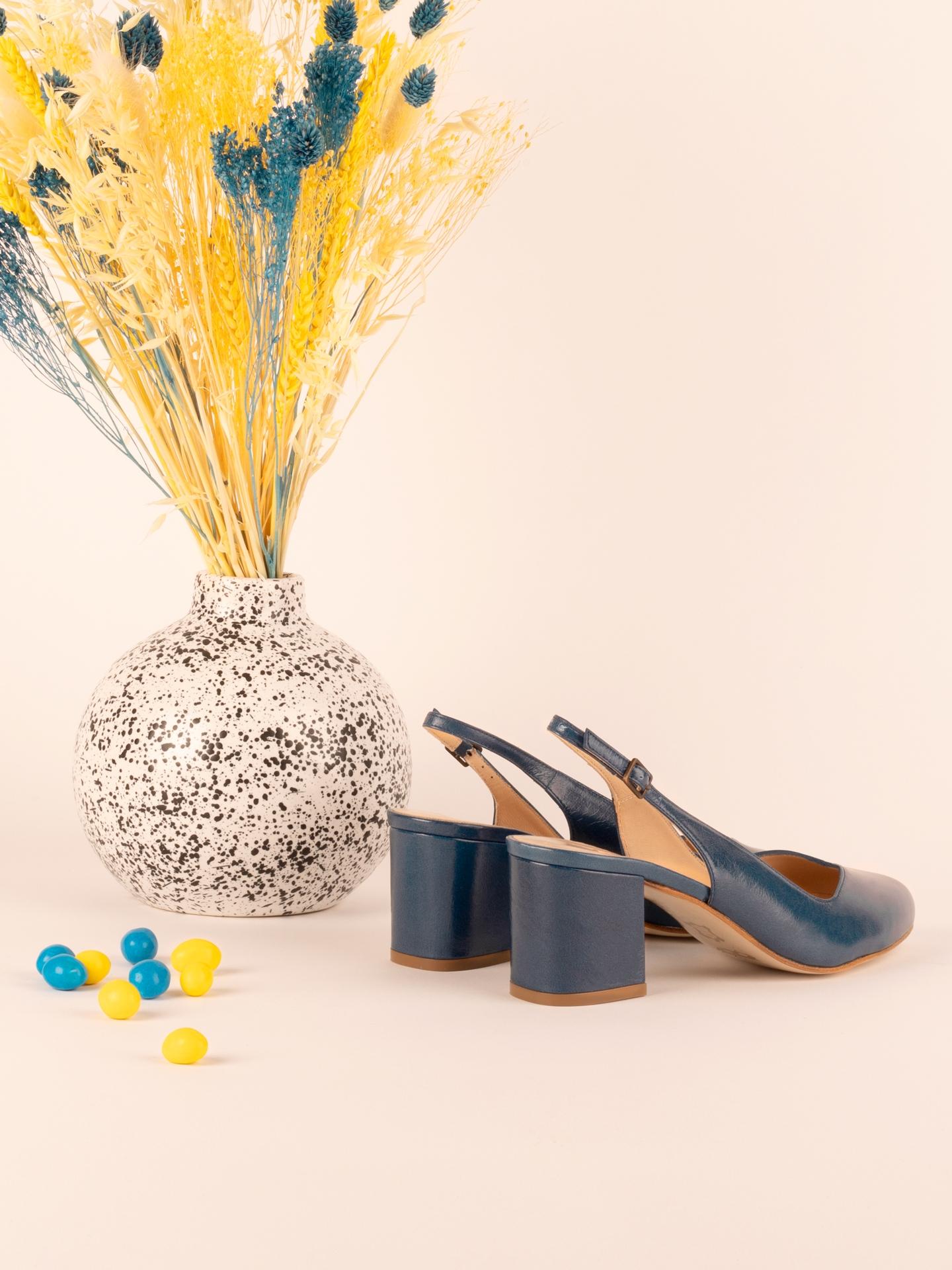 Ballerines Zolies bleu