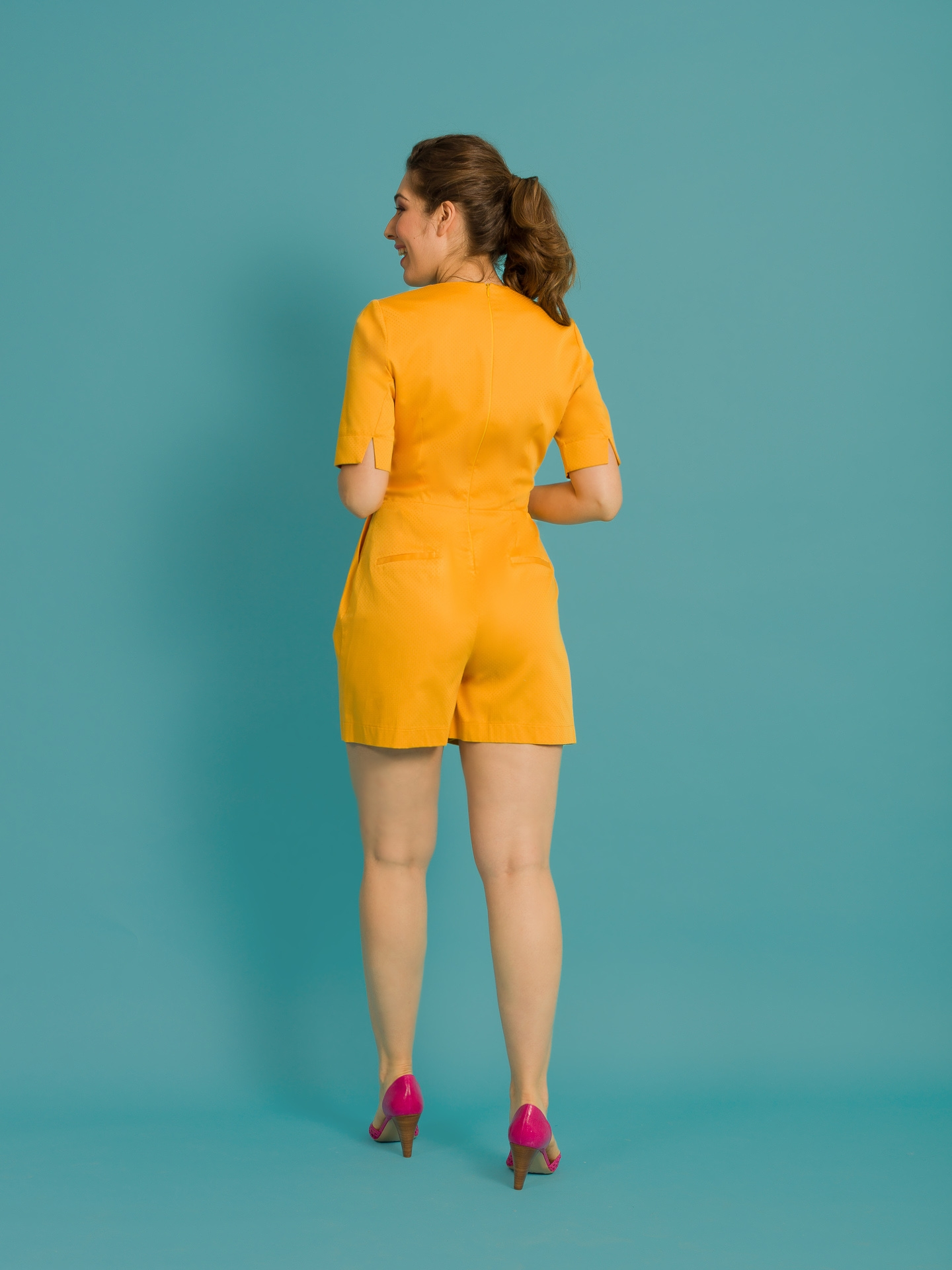 Combishort Zebulon jaune