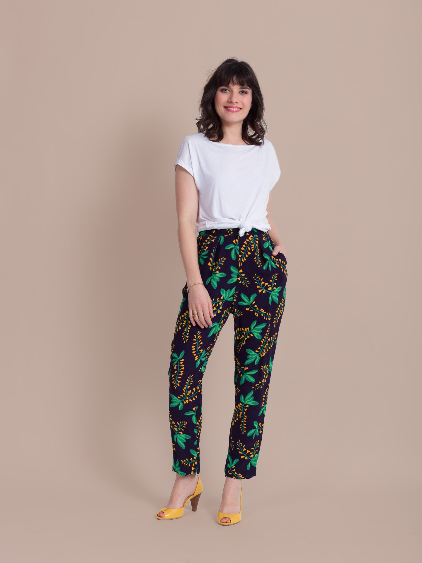 Pantalon Zootopy noir glycines