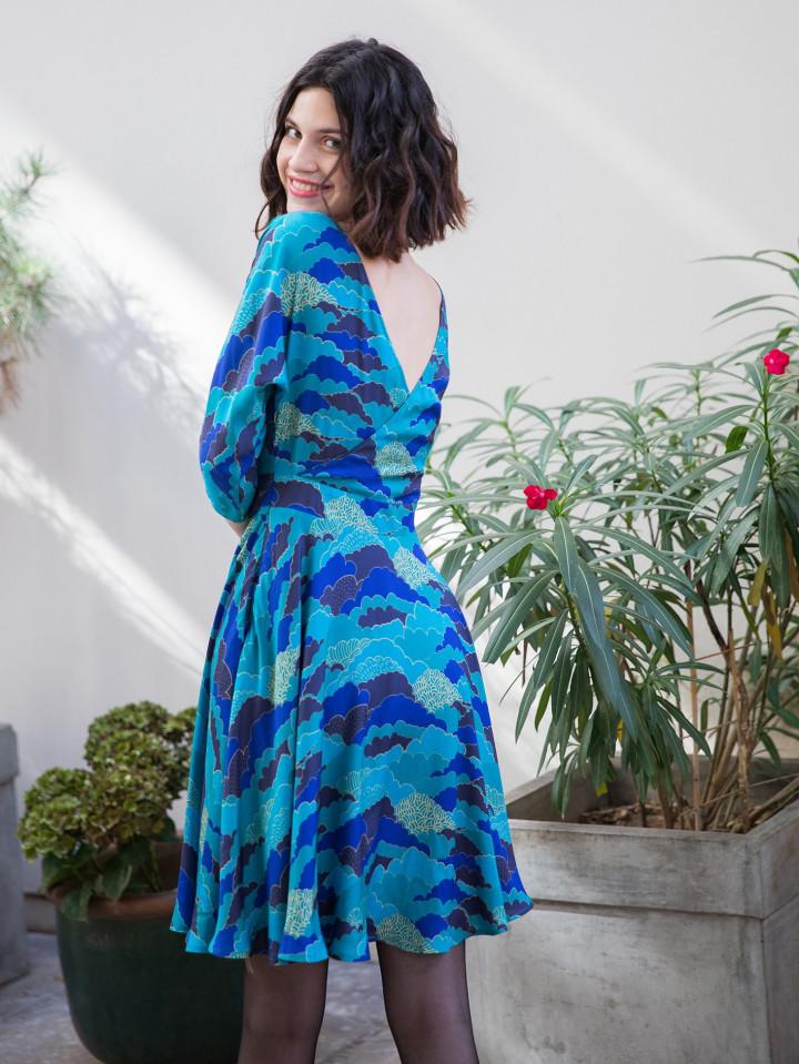 Robe Cordelia Nuage B