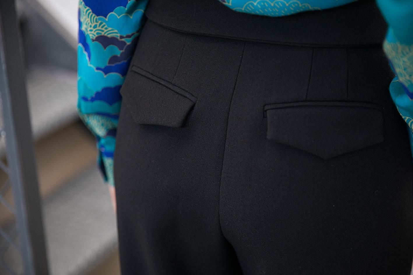 Pantalon Cafe Noir