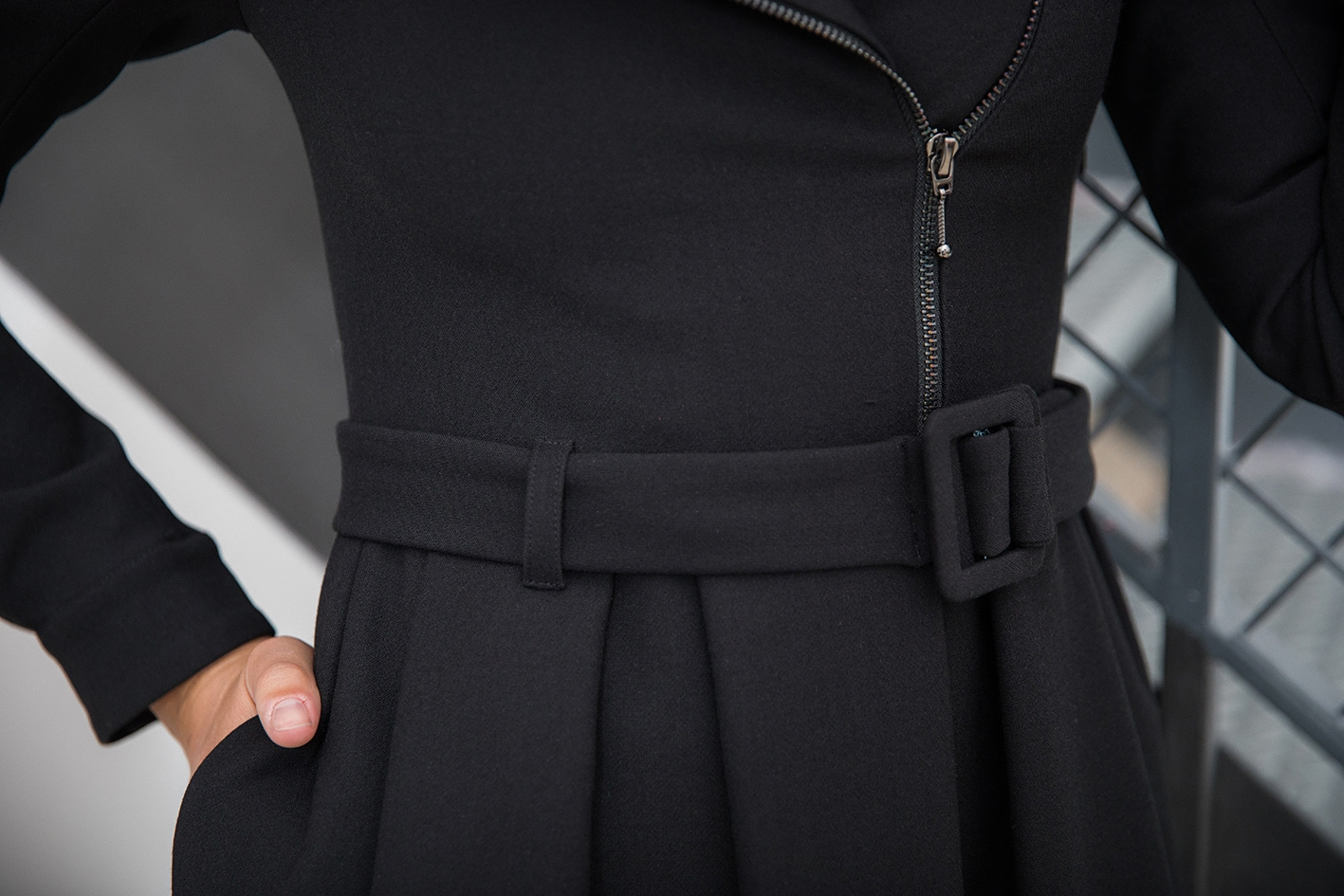 Robe Culot Noir