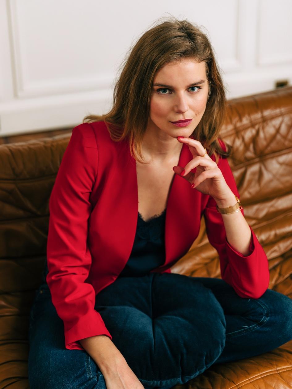 Veste Beaute Rouge