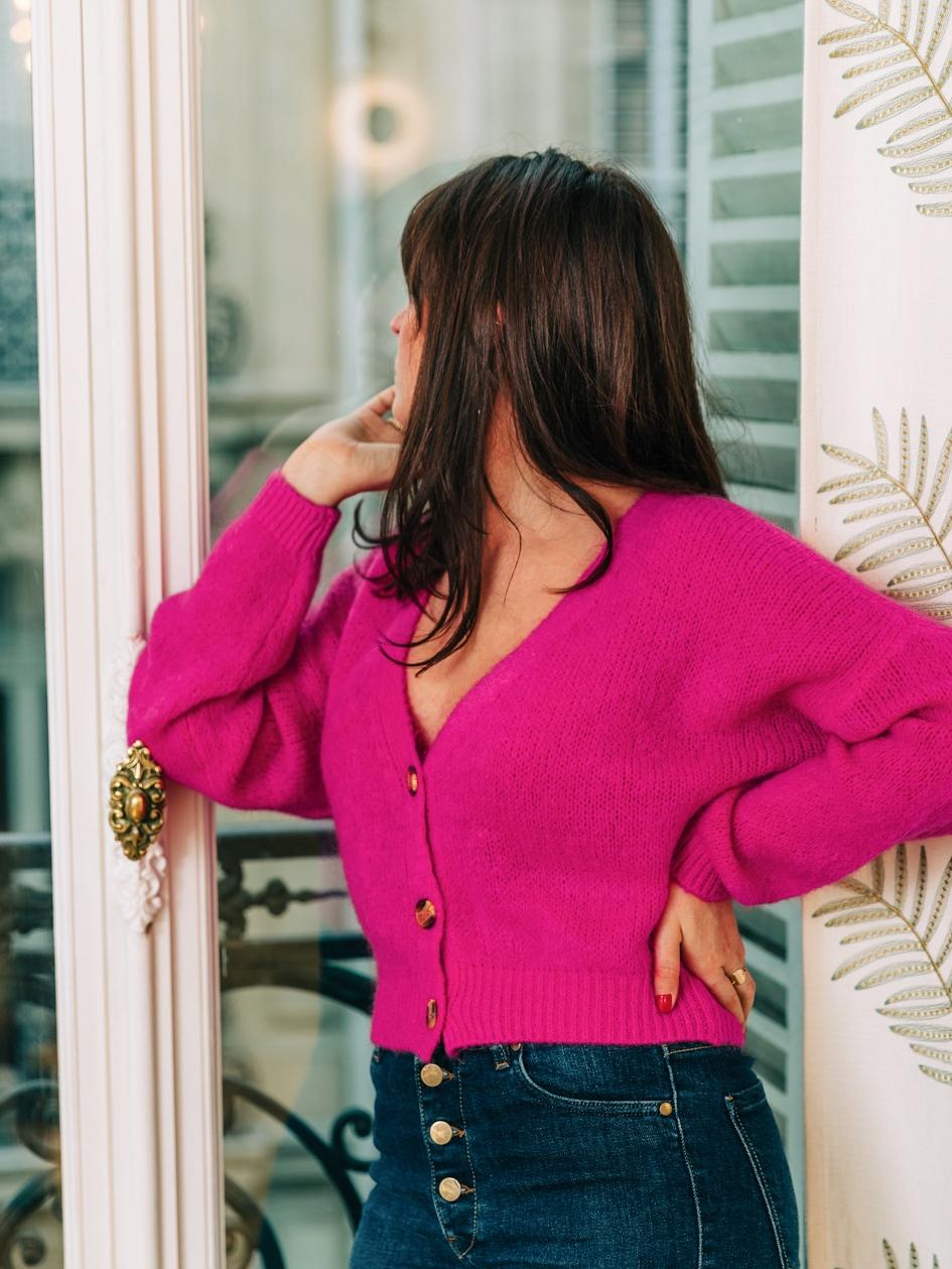 Gilet Desir Pink