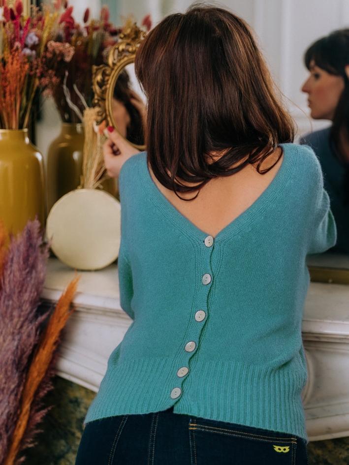 Gilet Dexter Turquoise