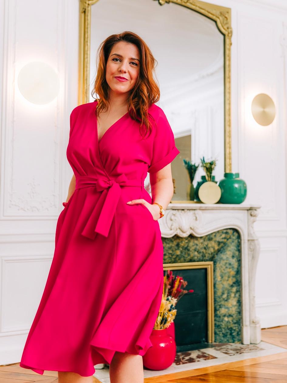Robe Dorika Pink