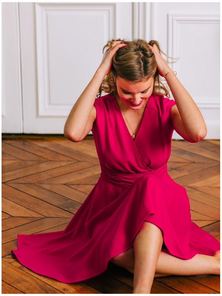 Robe Zoe Pink