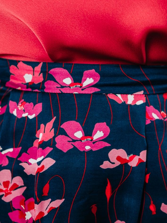 Jupe Celia Japan Flowers