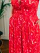 Robe Destinee Redflower