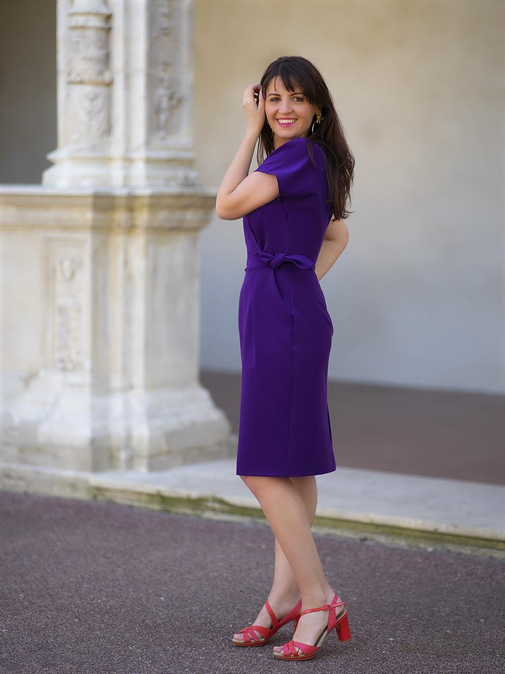 Robe Donna Ultraviolet
